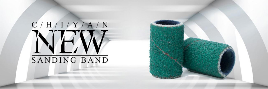 New product of green sanding band launched!