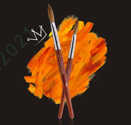 CY002# Kolinsky nail brush