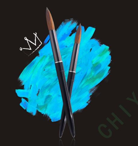CY003# Kolinsky nail brush