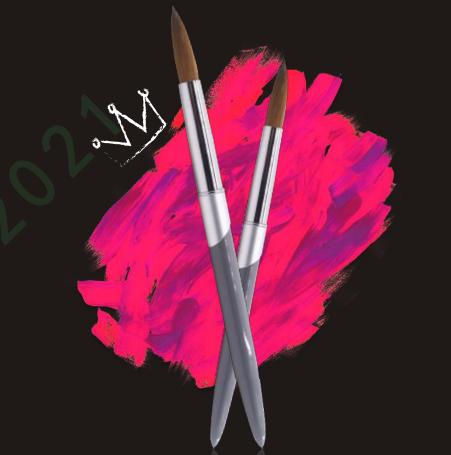 CY006# Kolinsky nail brush