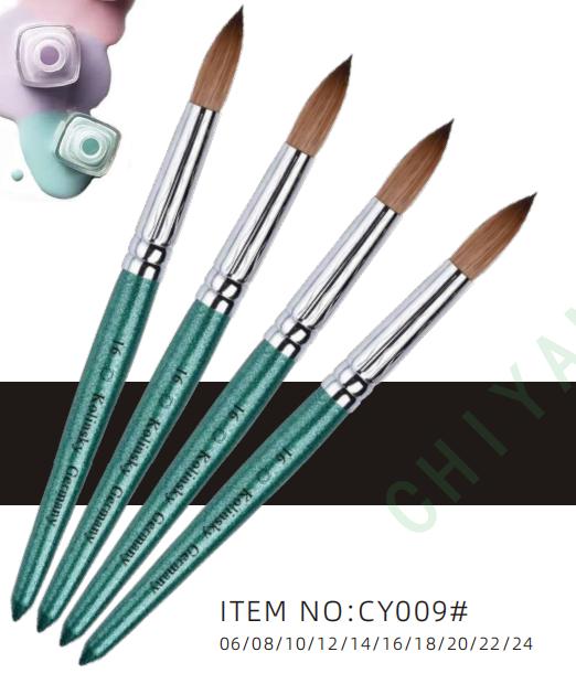CY09# Kolinsky nail brush