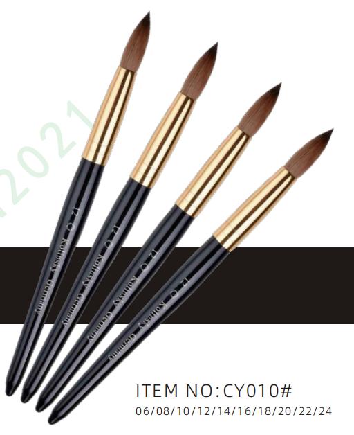 CY010# Kolinsky nail brush