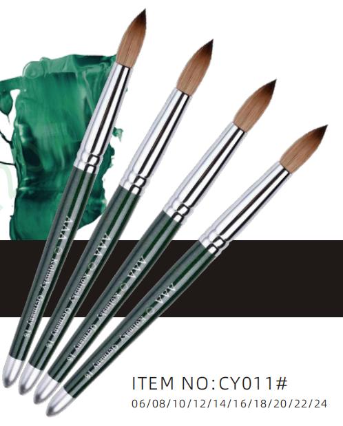 CY011# Kolinsky nail brush